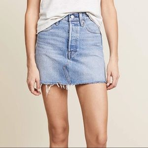 Levi's denim skirt, size 30, worn once
